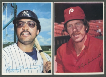1980 Topps Superstars Photo Cards Baseball Complete Set