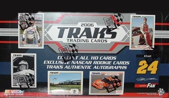2006 Press Pass NASCAR Traks Racing Hobby Box