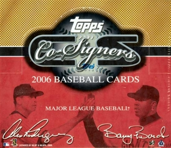 2006 Topps Co-Signers Baseball Hobby Box