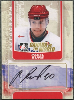 2011/12 ITG Canada vs The World #APB Pavel Bure Auto SP