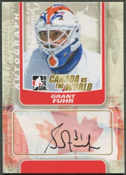 2011/12 ITG Canada vs The World #AGF Grant Fuhr Auto SP