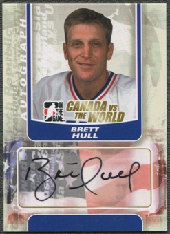 2011/12 ITG Canada vs The World #ABHU Brett Hull Auto SP