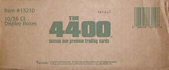 The 4400 Season One Hobby 10-Box Case (2006 InkWorks)