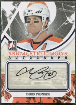 2011/12 ITG Broad Street Boys #ACP Chris Pronger Auto SP
