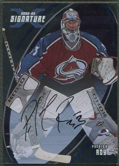 2002/03 BAP Signature Series #160 Patrick Roy Auto SP