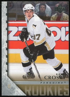 2005/06 Upper Deck #201 Sidney Crosby Young Guns Rookie Card YG RC