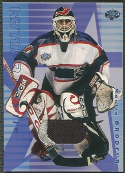 2001/02 BAP Memorabilia All-Star #ASE8 Martin Brodeur Emblem Patch /10