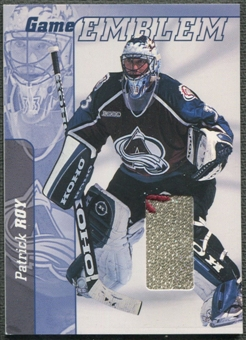 2000/01 BAP Signature Series #E23 Patrick Roy Jersey Emblem Patch /10