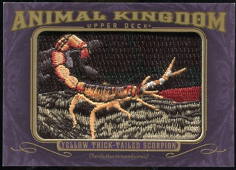 2012 Upper Deck Goodwin Champions Animal Kingdom #AK148 Thick-Tailed Scorpion