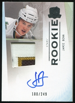 2009/10 Upper Deck The Cup #130 Jamie Benn Rookie Patch Autograph 180/249