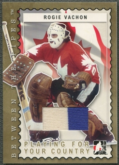 2006/07 Between The Pipes #PC14 Rogie Vachon Playing For Your Country Gold Jersey /10