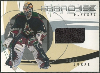 2001/02 BAP Signature Series #FP23 Sean Burke Franchise Jersey /28