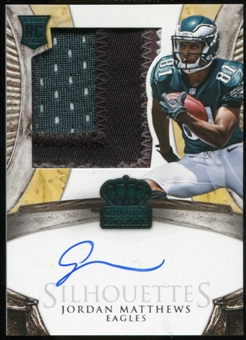 2014 Crown Royale #219 Jordan Matthews Silhouettes Serial # 16/299 RC
