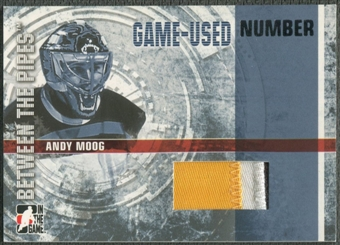 2006/07 Between The Pipes #GUN35 Andy Moog Numbers Patch /10