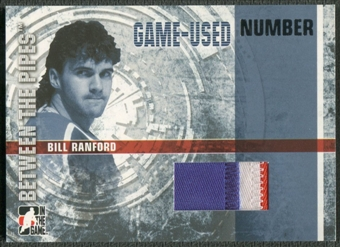 2006/07 Between The Pipes #GUN32 Bill Ranford Numbers Patch /10