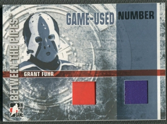 2006/07 Between The Pipes #GUN45 Grant Fuhr Numbers Dual Patch /10