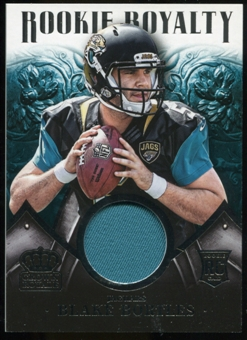 2014 Crown Royale Rookie Royalty Materials #RR38 Blake Bortles /499