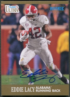 2013 Fleer Retro Ultra #22 Eddie Lacy Rookie Auto