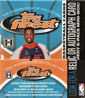 2005/06 Topps Finest Basketball Hobby Box