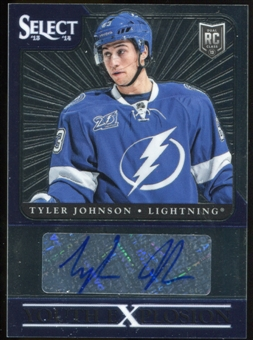 2013-14 Select Youth Explosion Autographs #YETJ Tyler Johnson