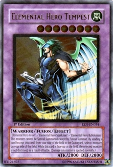 Yu-Gi-Oh Elemental Energy Single Elemental Hero Tempest Ultimate Rare (034)