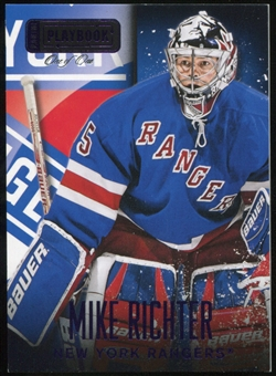 2013-14 Panini Playbook Purple #96 Mike Richter 1/1