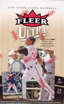 2006 Fleer Ultra Baseball Hobby Box (Upper Deck)