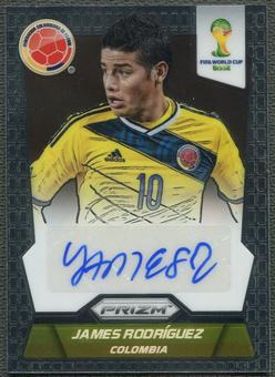 2014 Panini Prizm World Cup #SJR James Rodriguez Signatures Auto