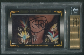 2010 Razor Cut Signature Edition Tommy Chong Auto #15/20