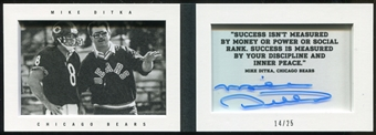 2013 Panini Playbook Coaches Signatures #2 Mike Ditka 14/25 Autograph