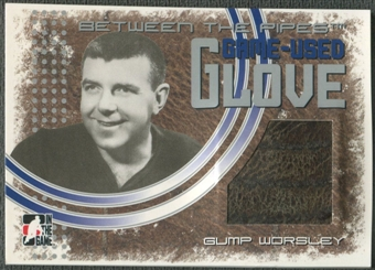 2006/07 Between The Pipes #GG18 Gump Worsley Game-Used Glove /50