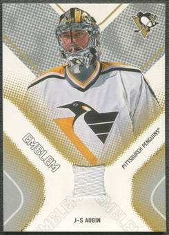 2002/03 Between the Pipes #10 J-S Aubin Emblem /10