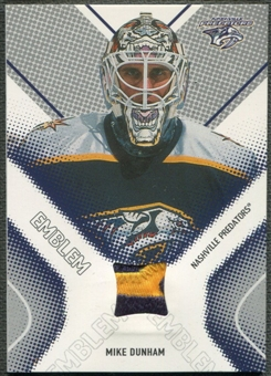 2002/03 Between the Pipes #15 Mike Dunham Emblem /10