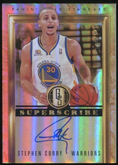 2011/12 Panini Gold Standard Superscribe Autographs #1 Stephen Curry 36/149
