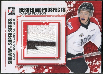 2011/12 ITG Heroes and Prospects #SSM19 Tanner Pearson Subway Series Black Emblem /6