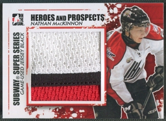 2011/12 ITG Heroes and Prospects #SSM15 Nathan MacKinnon Subway Series Black Jersey /100