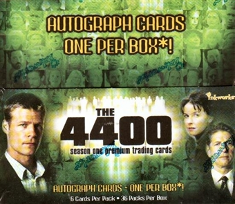 The 4400 Season One Hobby Box (2006 InkWorks)