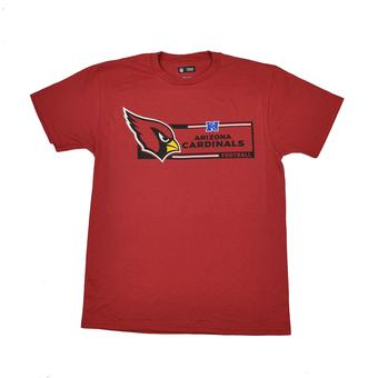 Arizona Cardinals Majestic Red Critical Victory VII Tee Shirt (Adult M)