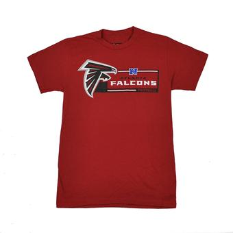 Atlanta Falcons Majestic Red Critical Victory VII Tee Shirt (Adult M)