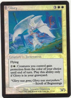 Magic the Gathering Judgment Single Glory FOIL