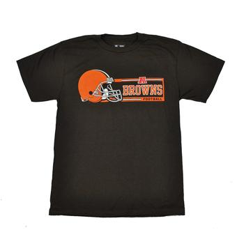 Cleveland Browns Majestic Brown Critical Victory VII Tee Shirt (Adult XL)
