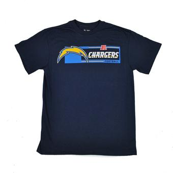 San Diego Chargers Majestic Navy Critical Victory VII Tee Shirt (Adult S)