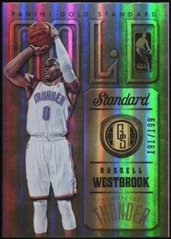 2012-13 Panini Gold Standard Gold Standard Insert #7 Russell Westbrook Serial #191/199