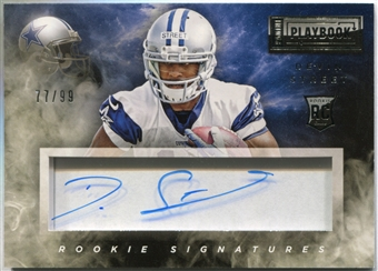 2014 Panini Playbook #118 Devin Street Autograph Serial #77/99
