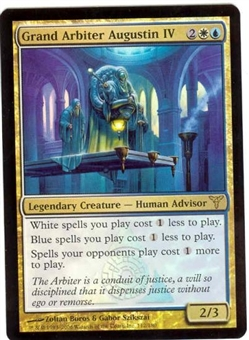 Magic the Gathering Dissension Single Grand Arbiter Augustin IV FOIL