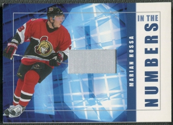 2001/02 BAP Signature Series #ITN45 Marian Hossa In The Numbers Patch /10
