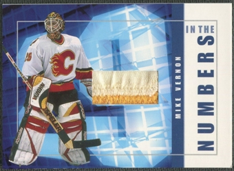 2001/02 BAP Signature Series #ITN9 Mike Vernon In The Numbers Patch /10