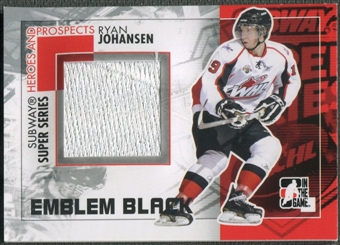 2010/11 ITG Heroes and Prospects #SSM28 Ryan Johansen Subway Series Black Emblem /6