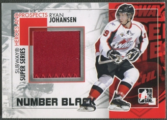 2010/11 ITG Heroes and Prospects #SSM28 Ryan Johansen Subway Series Black Number /6