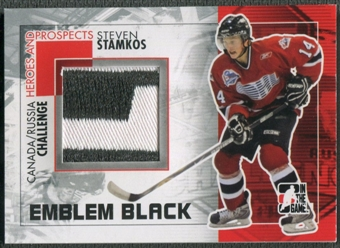 2010/11 ITG Heroes and Prospects #CRM32 Steven Stamkos Subway Series Black Emblem /6